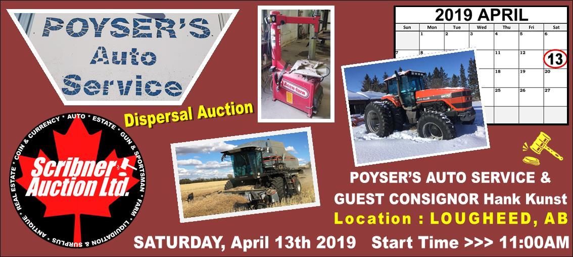 April 13-2019 POYSER AUTO